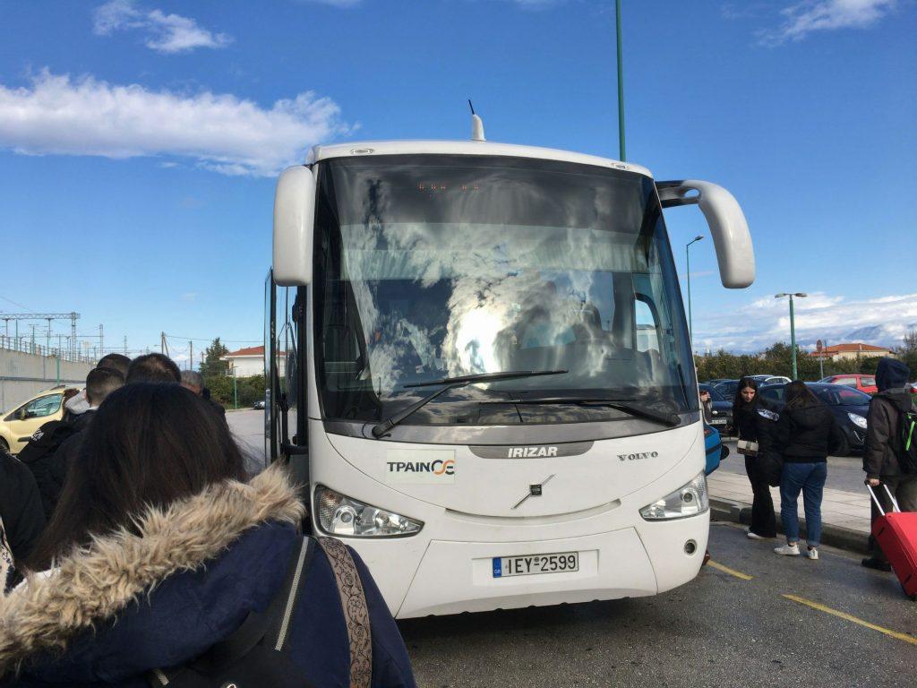 パトラ行き代行バス