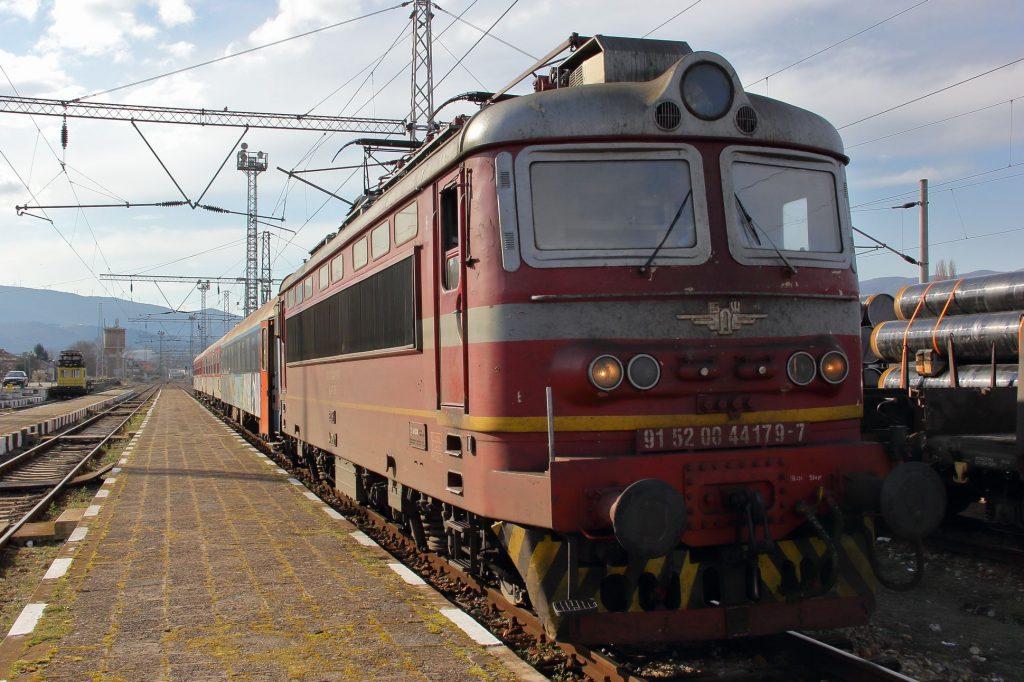 クラタ発ソフィア行き列車